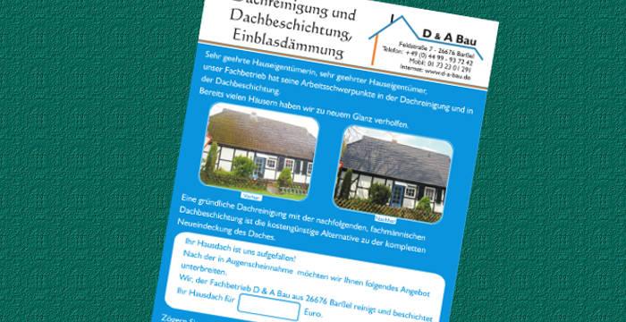 Webdesign Und Medienservice Für D A Bau Aus Barßel